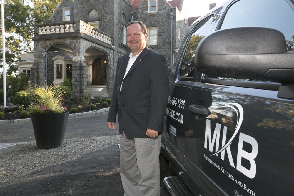 middletown kitchen and bath owner Mark Gandy