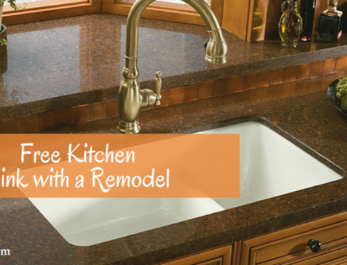 Kitchen Remodel Includes a FREE Kohler Kitchen Sink